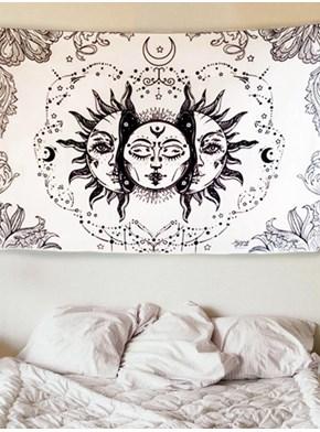 Panô Hippie Astral - Branco