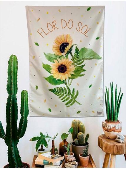 Panô Hippie Flor do Sol