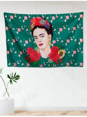 Panô Hippie Frida Kahlo Green