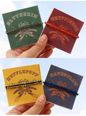 Pulseiras Casas de Hogwarts - Escolha a sua!