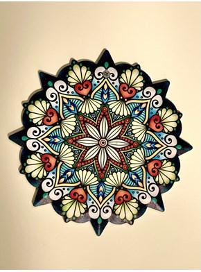 Quadro Mandala Anis Estrelado