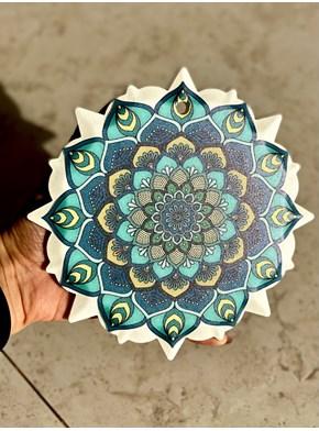 Quadro Mandala Turquesa