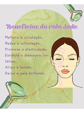 Rolo Jade de Massagem Facial