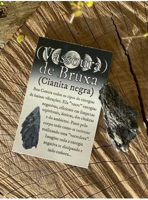 Vassoura de Bruxa - Cianita Negra