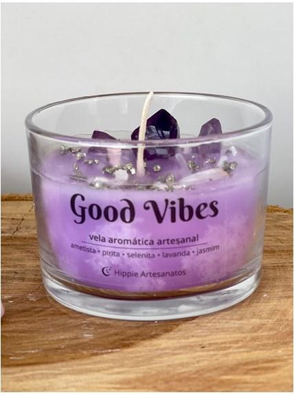 Vela Energética Good Vibes