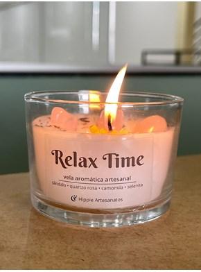 Vela Energética Relax Time